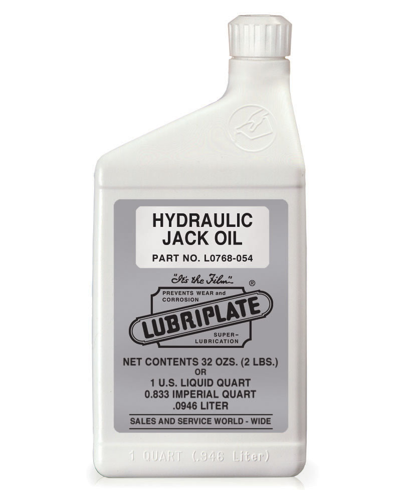 Hydraulic Jack Oil | Lubriplate Lubricants Co