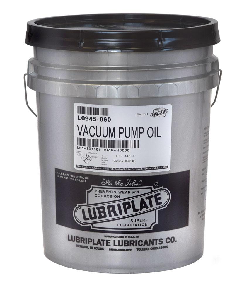 LUBRIPLATE VACUUM PUMP OIL